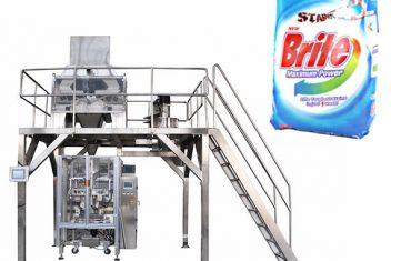 4 galvutės linijiniai svoriai ploviklių skalbimo miltelių pakavimo mašinos