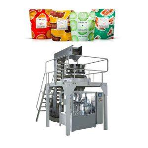 Automatinė pildymo pakavimo mašina, skirta maišeliui su užtrauktuku
