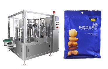 iš anksto pagamintas maišelis maisto granulių užpildymo sandarinimo pakavimo mašina