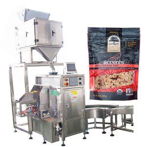 Automatinė kavos miltelių užpildymo ir sandarinimo mašina