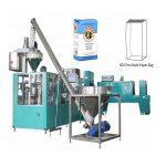 automatinis popieriaus maišelio pakavimo linija miltams