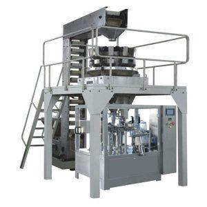 Automatinė premade granulių svėrimo užpildymo ir sandarinimo gamybos linija