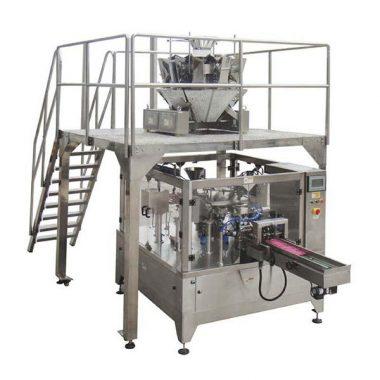 automatinė rotacinė maisto pakavimo mašina, užtrauktuko maišelis