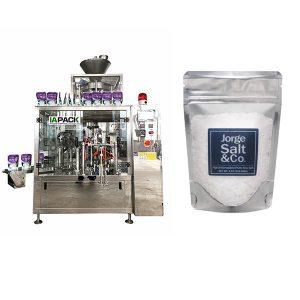 Automatinė Rotary premade maišelio pakavimo mašina druskai