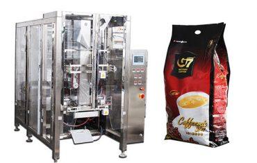 automatinis keturiasdešimt antspaudo paketų pakavimo mašina volumetrinio puodelio pildymo mašina