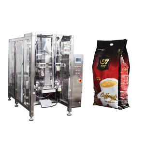 kavos keturkampio maišelio formos užpildo plombos pakavimo mašina