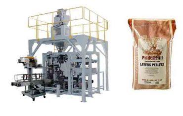pašarų grūdų granulių sunkiojo maišelio pakavimo mašina