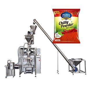 """""""VFFS Bagger"""" pakavimo mašina su paprikos padažu ir """"Chilli"""" maisto milteliais"""