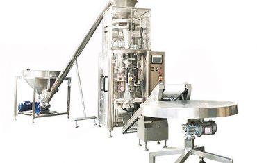 granulės vertikalios formos užpildymo antspaudo mašina su tūrine puodeliu